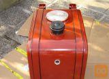 Rezervoar za hidravlično olje, 200 l, z alu ploščo