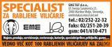 Viličar, DanTruck Kalmar EC 96-6, elektro, štiripotni