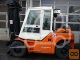 Viličar, DanTruck DFG60-6009, dizel, čelni, štirikolesni