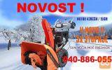 Snežna freza, SnowMaster 86 PRO, z dvojnim polžem
