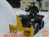 Snežna freza za ATV (120 cm)