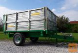 Prikolica, enoosna, kiper, traktorska, Zaccaria ZAM 30 N