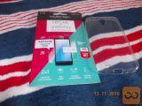 novo zaščitno folijo in prozorni ovitek- za Samsung S4