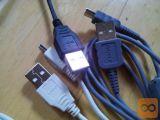 USB kabel.