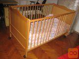 Otroška postelja od 0 do 7 let kompletna