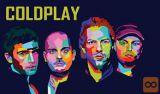 2 vstopnici za koncert skupine Coldplay