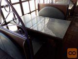 Gostinska oprema - mize stoli itd...