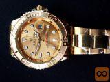 Rolex moške ure in masivna moška zapestnica