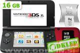 Nintendo 3DS XL rdeč + R4i SDHC v2014 + microSD 16GB + SD