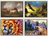 Nove Slike Živali ( 70x50cm ali 40x30cm )