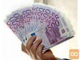 Posojilo od 1000 € do 500.000.000 € v 48 urah