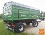 Traktorska prikolica, dvoosna, Brantner Z 18051 XXL (18t)