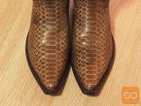 TONY MORA moški škornji iz usnja puščavskega pitona