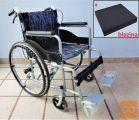 NOV lahek invalidski voziček, z dodatnima zavorama + blazina