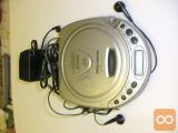 PANADIUM prenosni digitalni CD + FM radio