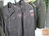 Obleka častnika slovenske vojske