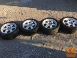 Original platišča Audi 17col z pnevmatikami Fulda