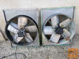 2 ventilatorja premera 66cm
