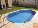 Vgradni bazen Ibiza z lestvijo 525x320x150cm
