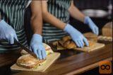 Delavka za delo na liniji za izdelavo sendvičev, 5€/h