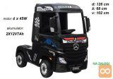 Otroški tovornjak na akumulator Mercedes Actros